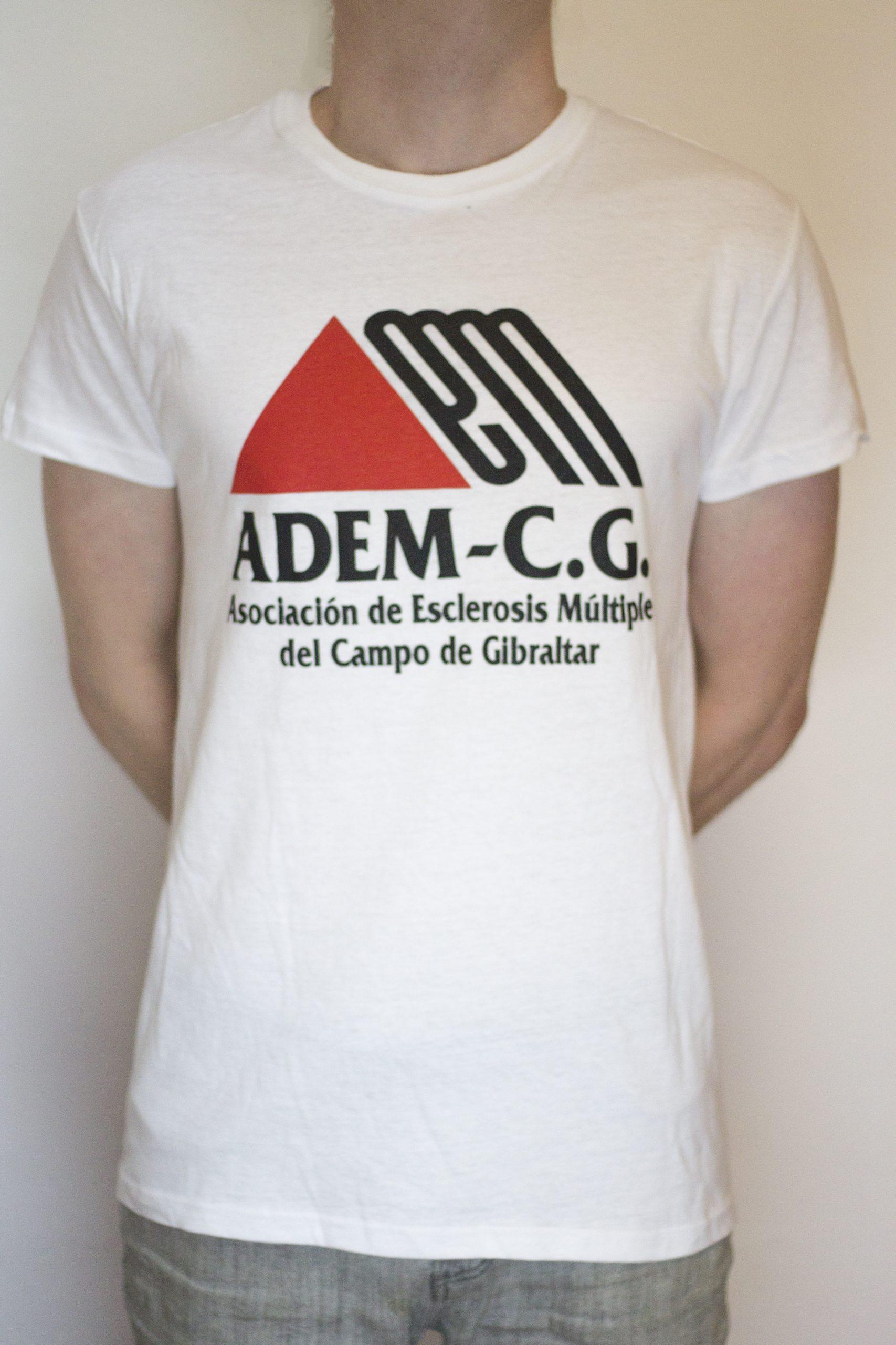 Camiseta blanca ADEM-CG