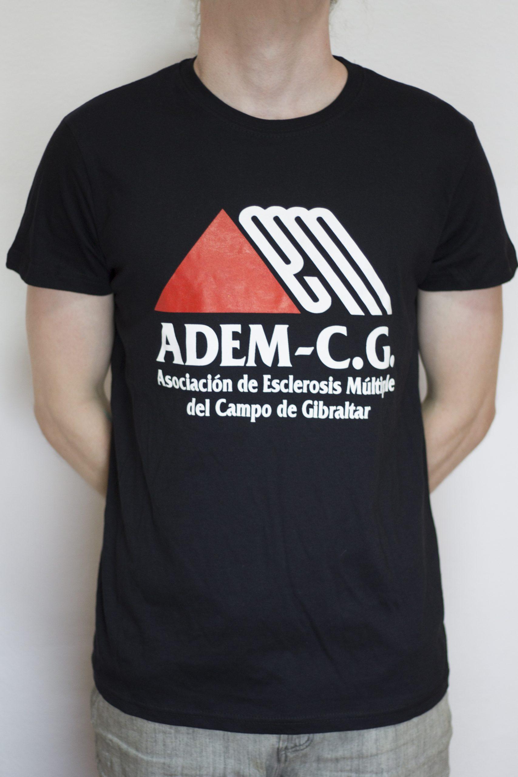 Camiseta negra ADEM-CG